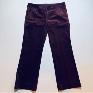 2 for $30: Eddie Bauer plum velvet pants, NWOT
